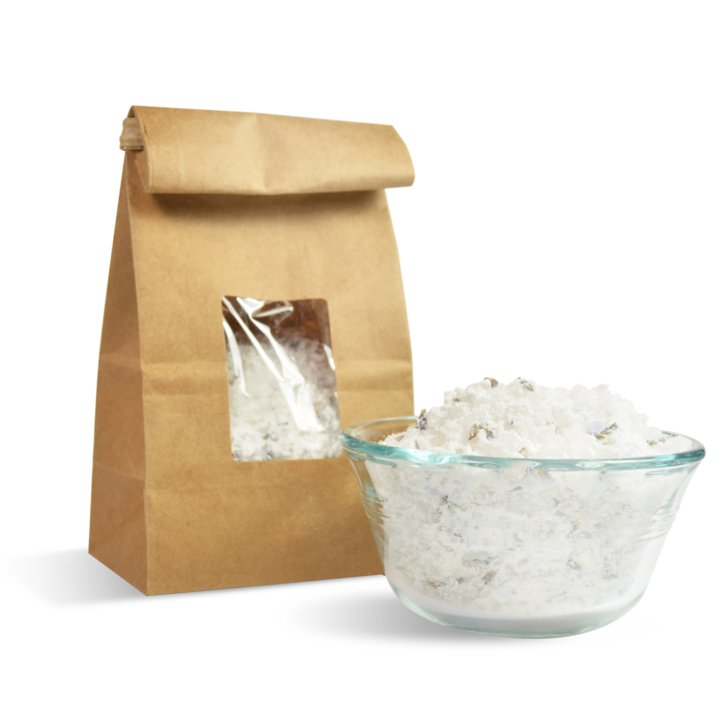 Coconut Milk & Lavender Soothing Bath Salt Kit