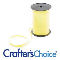 Light Yellow Curling Ribbon