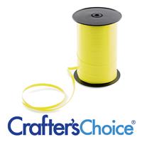 Yellow Curling Ribbon