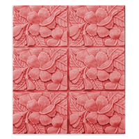 Hibiscus Soap Mold Tray (MW 150)
