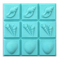 Shells 3 Soap Mold Tray (MW 167)