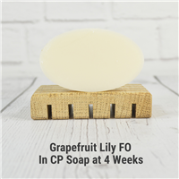 Grapefruit Lily FO in CP Soap