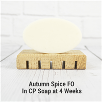 Autumn Spice FO in Cold Process Soap