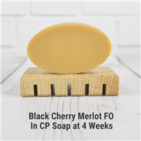 Black Cherry Merlot FO in Cold Process Soap