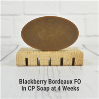 Blackberry Bordeaux FO in CP Soap