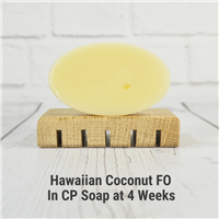 Hawaiian Coconut FO in CP Soap