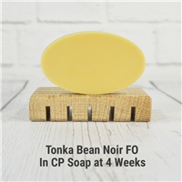 Tonka Bean Noir FO in CP Soap