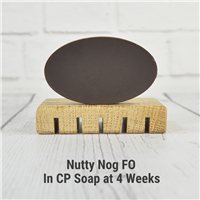 Nutty Nog FO in CP Soap