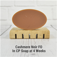 Cashmere Noir FO in CP Soap