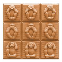 Monkeys 3 Wise Soap Mold Tray (MW 65)