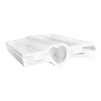 Heart Mini Column Silicone Soap Mold 2014