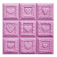 Crazy Hearts Soap Mold Tray (MW 50)