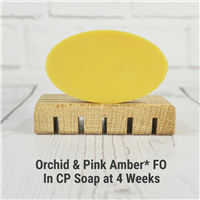 Orchid & Pink Amber* FO in CP Soap