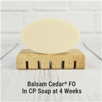 Balsam Cedar* Fragrance Oil in CP Soap