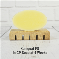 Kumquat FO in CP Soap
