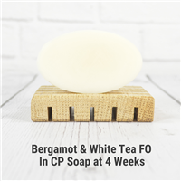 Bergamot & White Tea FO in CP Soap