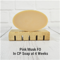 Pink Musk FO in CP Soap