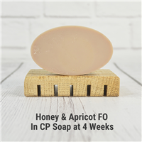 Honey & Apricot Fragrance Oil in CP Soap