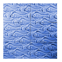 Fins and Feathers Tray Soap Mold (MW 179)