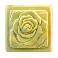 Bas Relief Rose Soap Mold (MW 183)