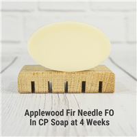 Applewood Fir Needle FO in CP Soap