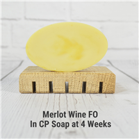 Merlot Wine Fragrance Oil in CP Soap