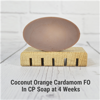 Coconut Orange Cardamom Fragrance Oil in CP Soap