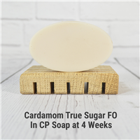 Cardamom True Sugar Fragrance Oil in CP Soap