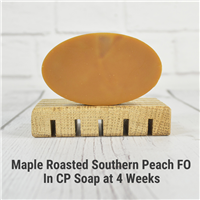 Maple Roasted Southern Peach FO in CP Soap