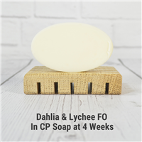 Dahlia & Lychee Fragrance Oil in CP Soap