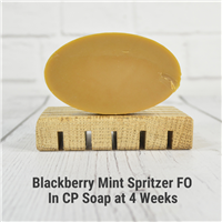Blackberry Mint Spritzer FO in CP Soap