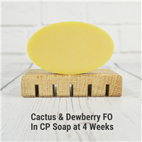 Cactus & Dewberry FO in CP Soap