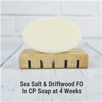 Sea Salt & Driftwood FO in CP Soap
