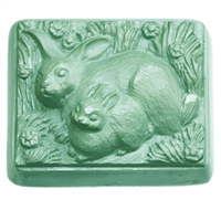 2 Rabbits Soap Mold (MW 196)