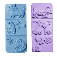 Break-A-Way Dogs Soap Molds (MW 200)