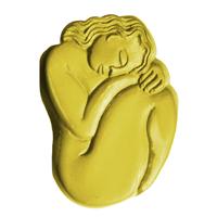 Sleeping Woman Soap Mold (MW 248)