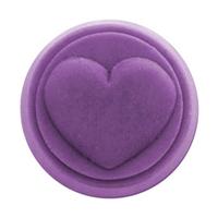 Heart Small Round Soap Mold (MW 277)