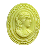 Cameo Soap Mold (MW 278)