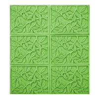 Bamboo Leaves Soap Mold Tray (MW 270)