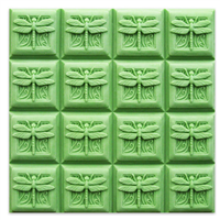 Dragonfly Guest Tray Soap Mold (MW 261)