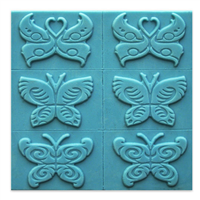 Butterfly 6 Soap Mold Tray (MW 262)