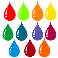 Stained Glass Liquid Color Sample Set