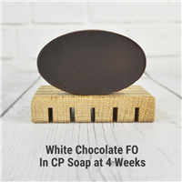 White Chocolate FO in CP Soap