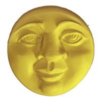Moon Face Soap Mold (MW 433)