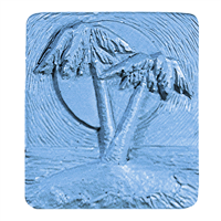 Two Palm Trees Soap Mold (MW 448)