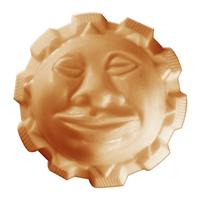 Sun God Soap Mold (Special Order)