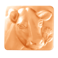 Cow 2 Soap Mold (MW 369)