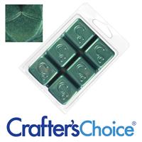 Evergreen Sparkle Mica Soap Color Blocks