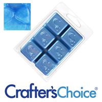 Celestial Blue Sparkle Mica Soap Color Blocks