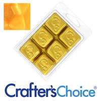 Light Gold Shimmer Mica Soap Color Blocks